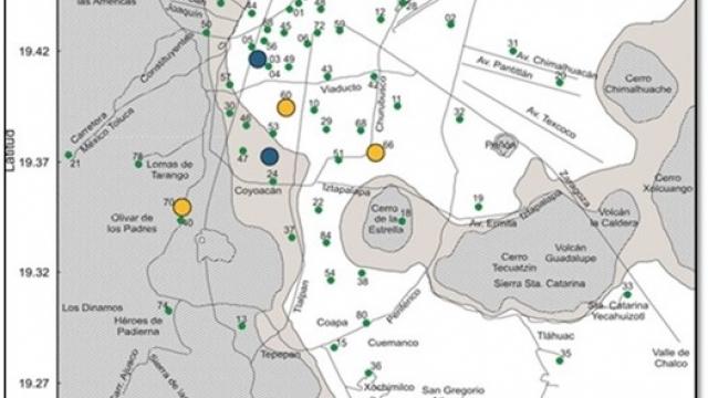 Red Acelerográfica y Sistema de Alerta Sísmica de la Ciudad de México